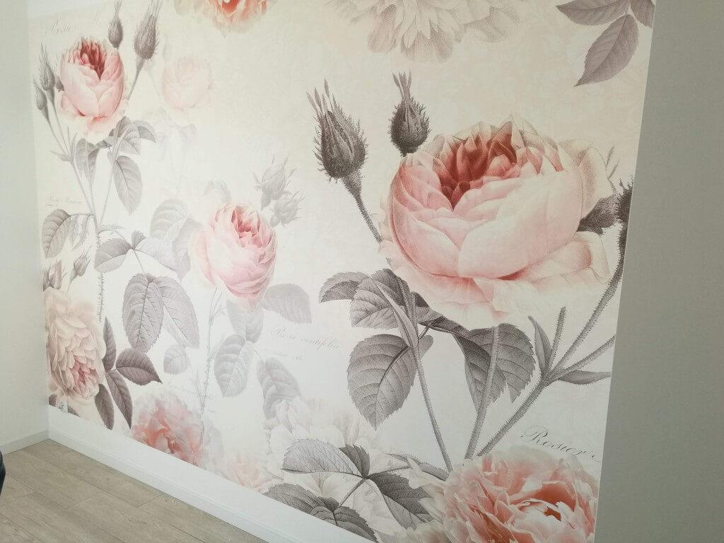 Fototapeta przedstawiająca róże